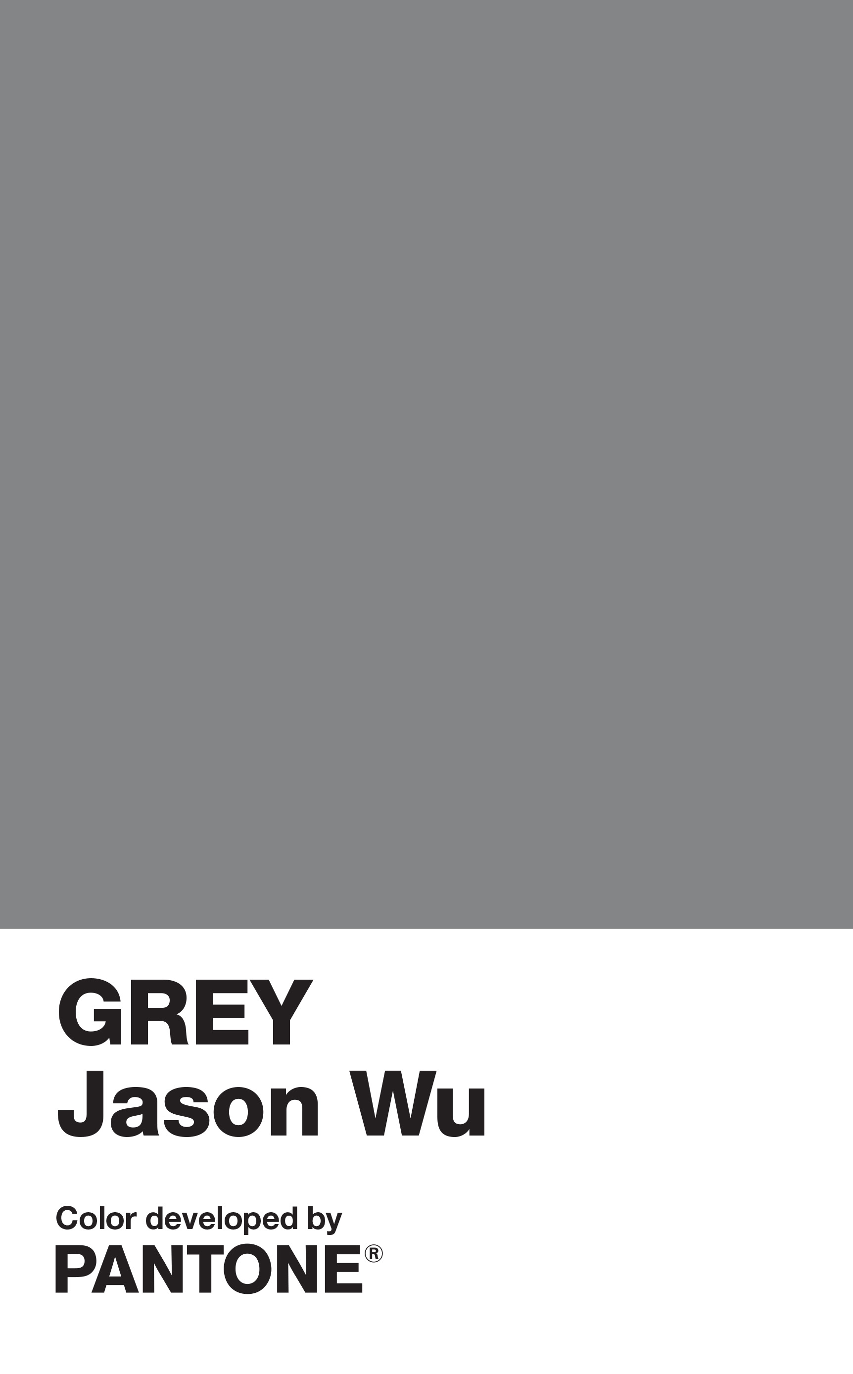 Jason Wu Develops Exclusive Pantone Color for Grey Launch – WWD
