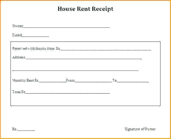 house rent format Kleo.beachfix.co