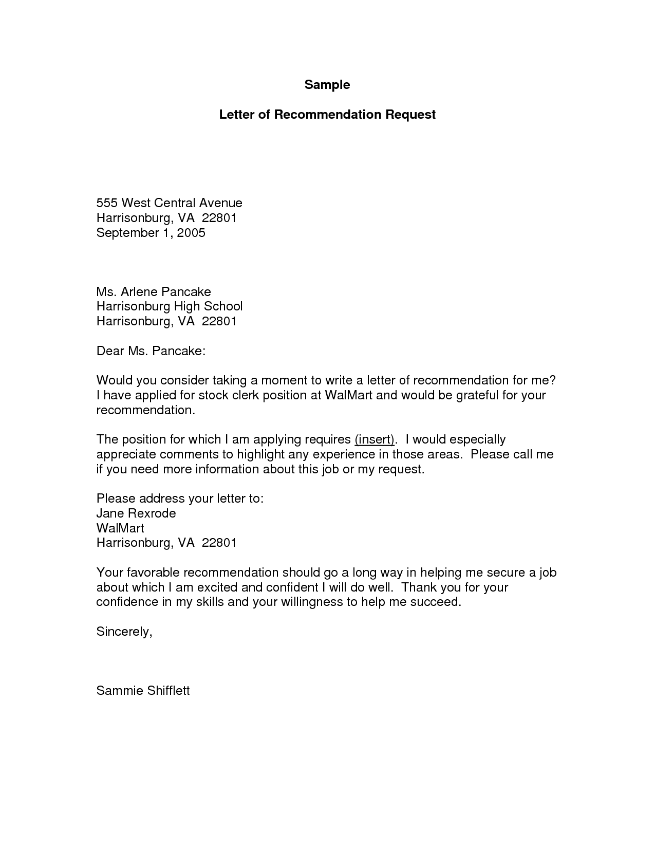 how to write a letter asking for a letter of recommendation Kleo