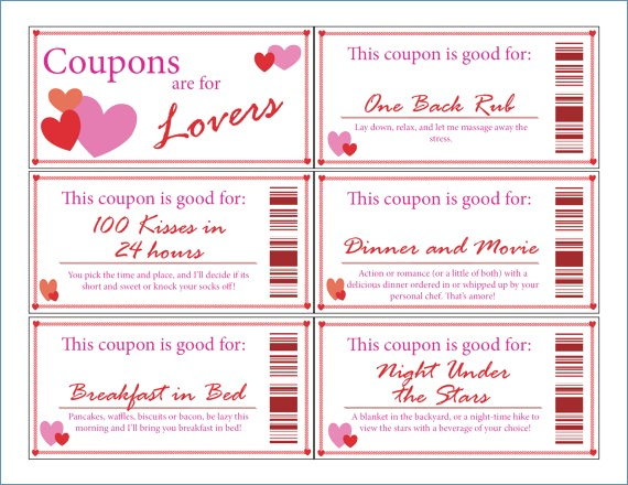 Iou Coupon Template Coupon Book Template for Husband Fidelitypoint