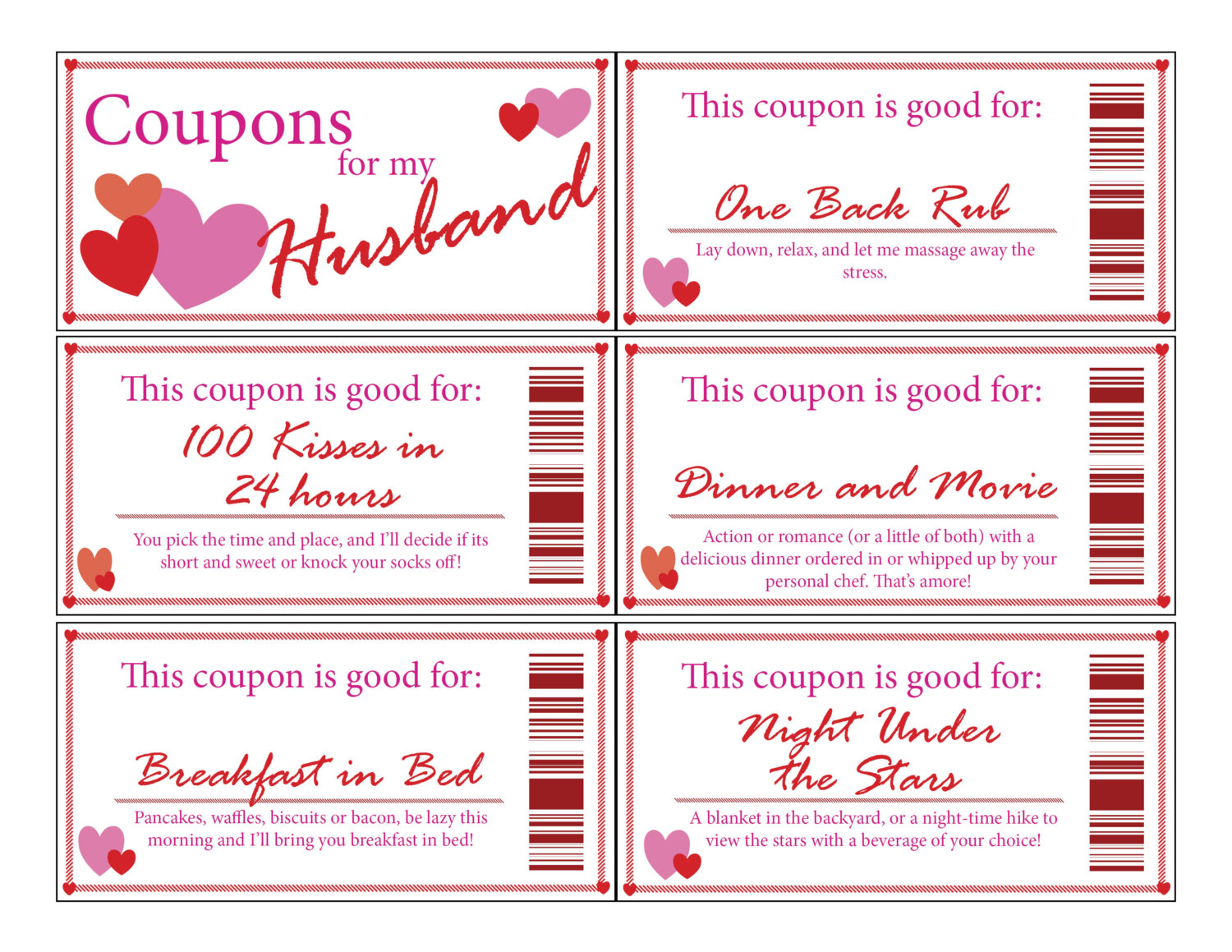 27 Images of Birthday Coupon Template Printable For Husband