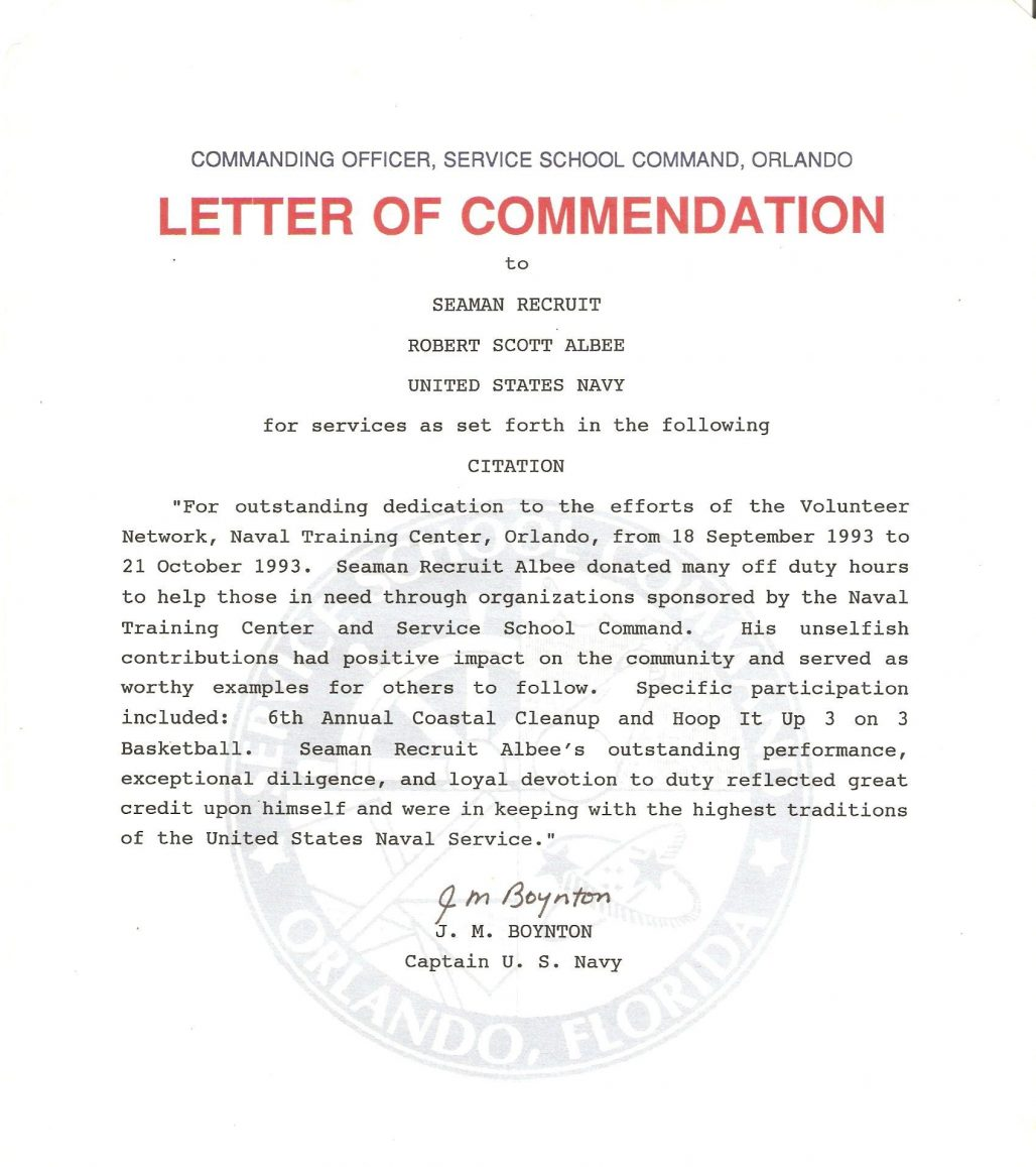 Letter Of Commendation Template from brittneytaylorbeauty.com