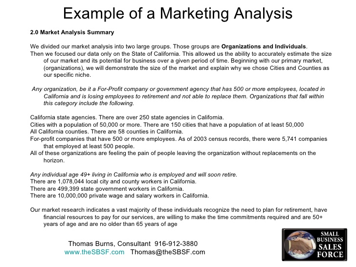 Market Analysis Template 12+ Free Sample, Example, Format | Free