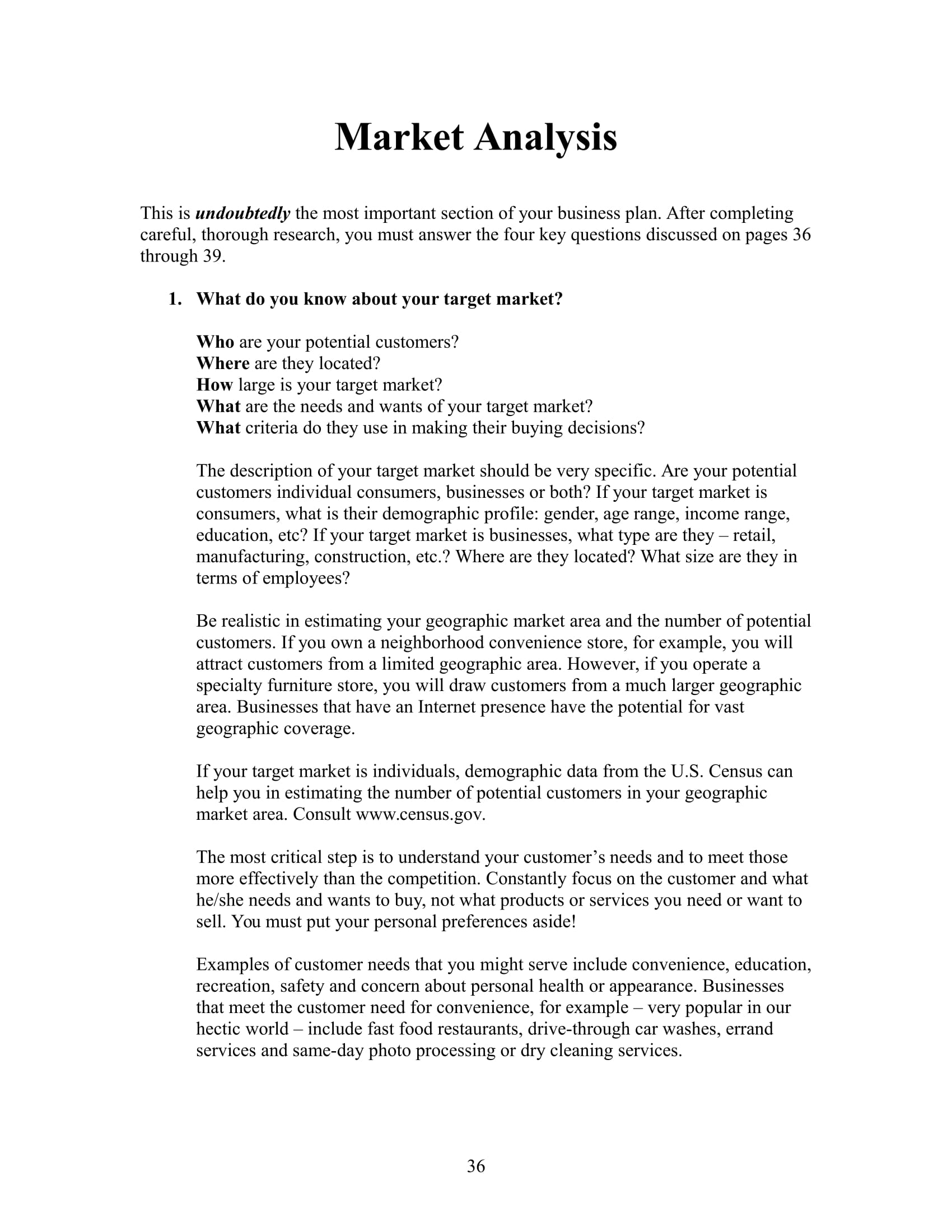 9+ Market Analysis Examples PDF, Word