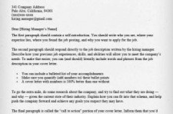 good cover letter example brittney taylor