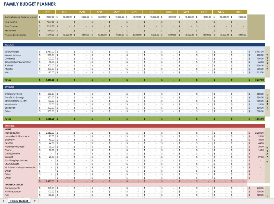 monthly expense planner Kleo.beachfix.co