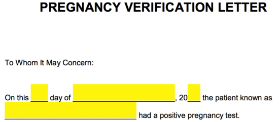 How To Fill Pregnancy Form Fill Online, Printable, Fillable