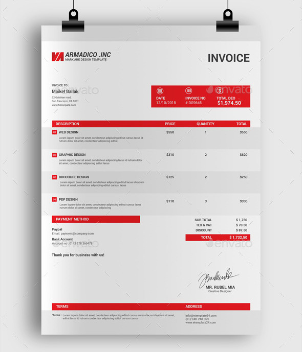 Professional Invoice What Is A Professional Invoice A Complete