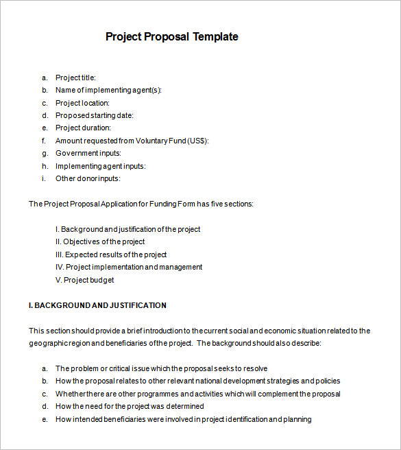 examples of project proposals template 21 project proposal