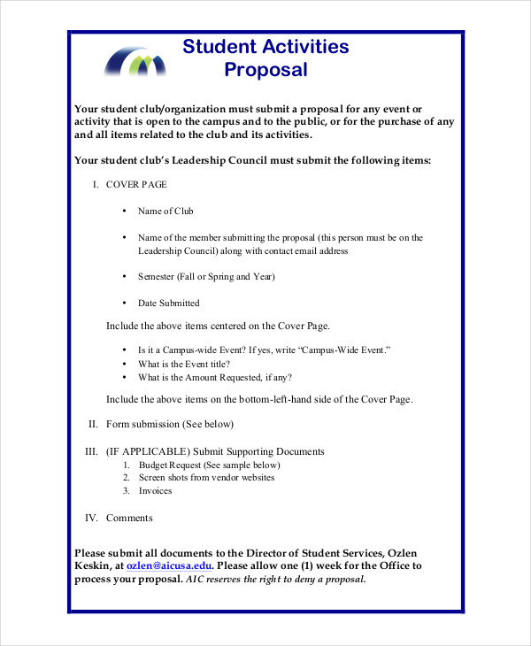 44+ Project Proposal Examples PDF, Word