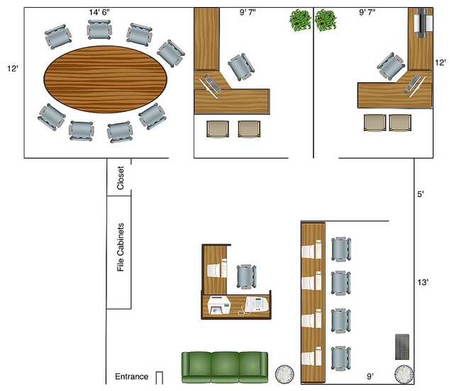 Foundation Dezin & Decor: Different layouts of different spaces.