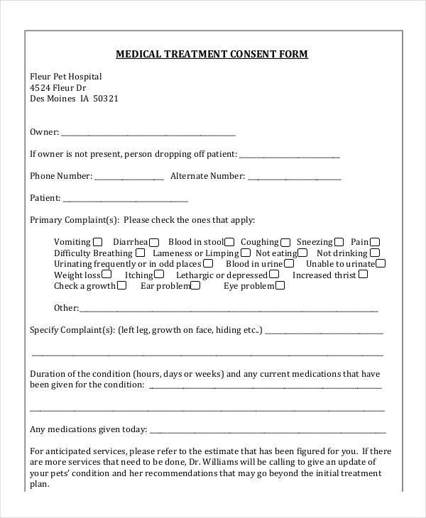 Fillable Online Employee Refusal of Medical Treatment Form Fax