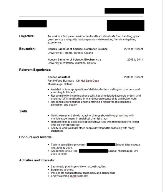 Job resume with no experience elegant for first 41 on format