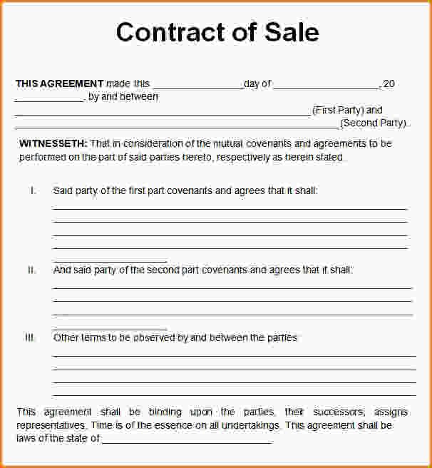 simple purchase agreement template word sample sales contract acla