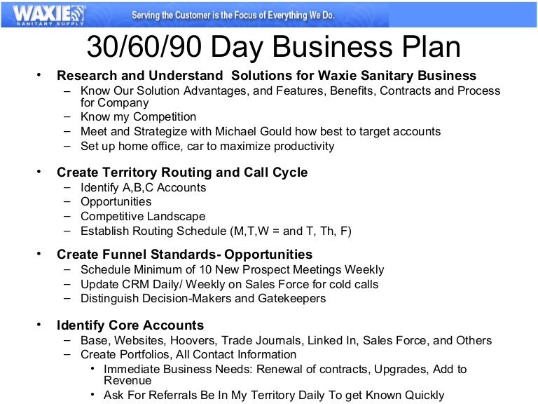 example of the business plan for 30/60/90 days | Baby | Pinterest