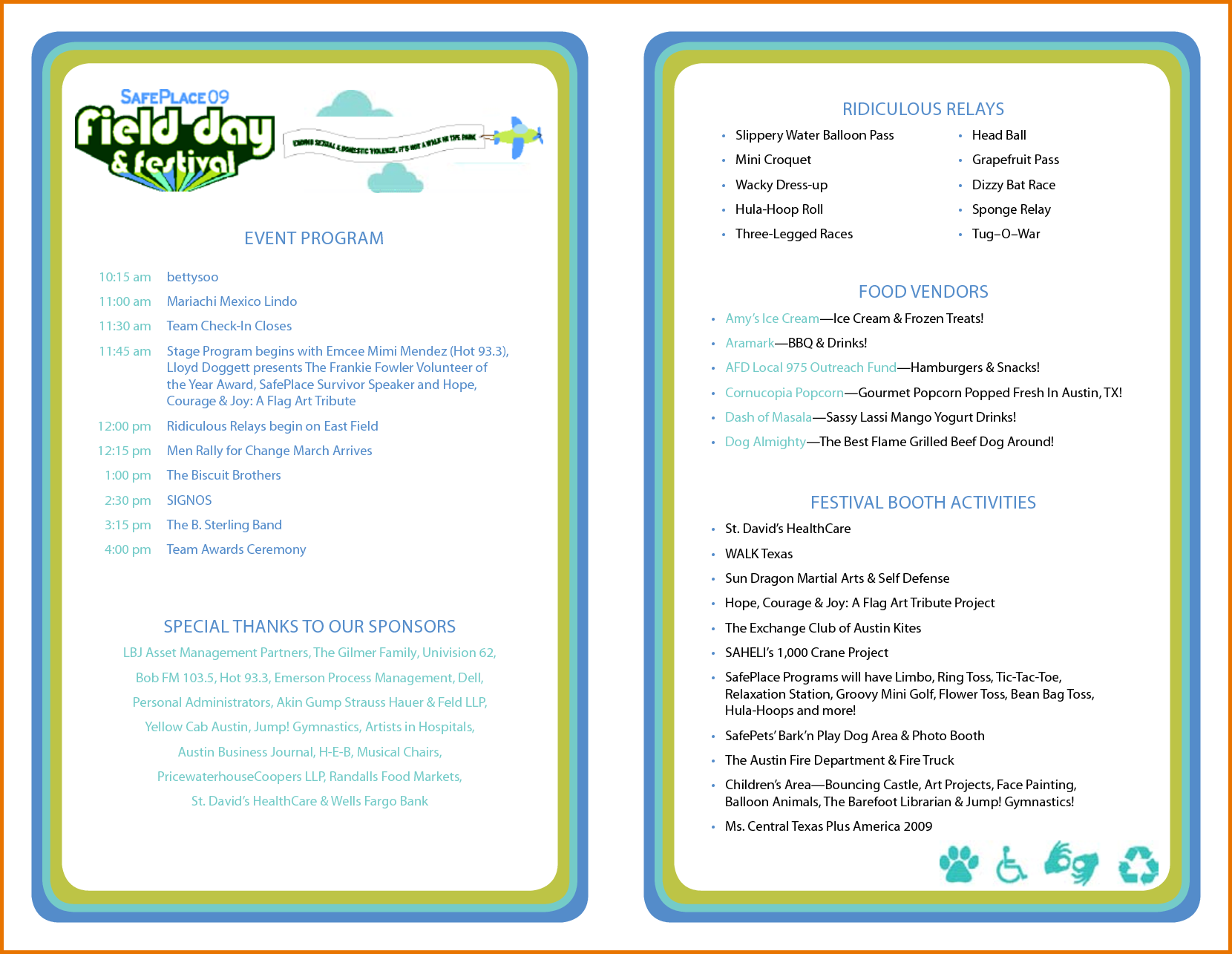 events program template Kleo.beachfix.co