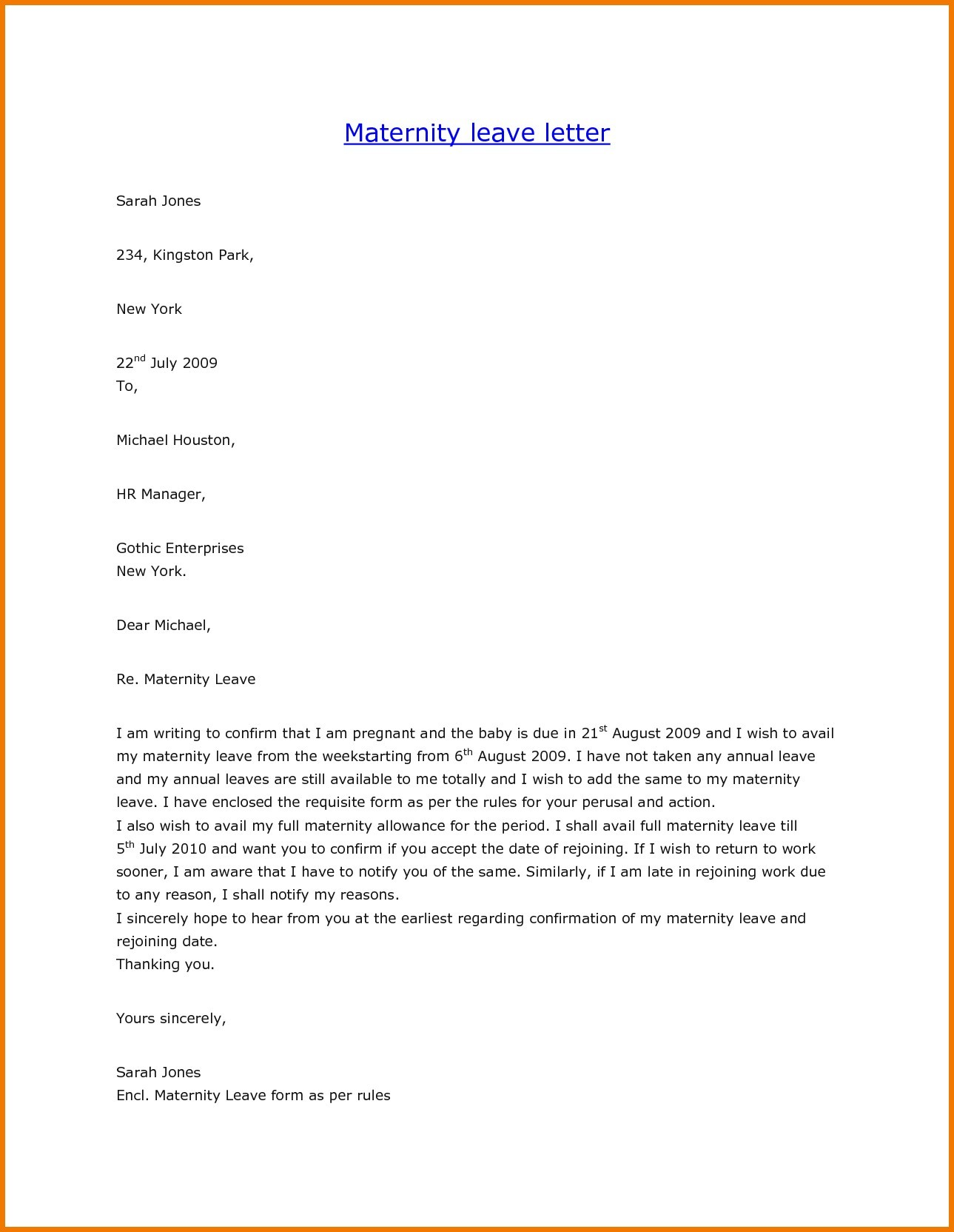 Leave Of Absence Letter Template For School Fresh Example Letter