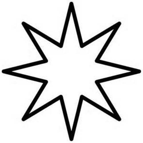 Image of Star Clipart Black and White #11163, Star Clip Art Black
