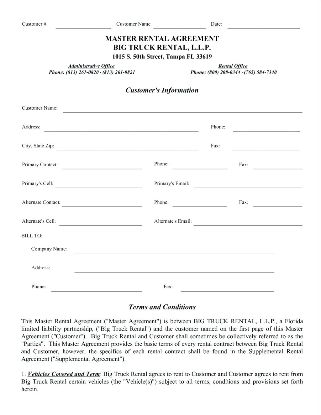template: Lease Agreement Form Template Templates Residential U