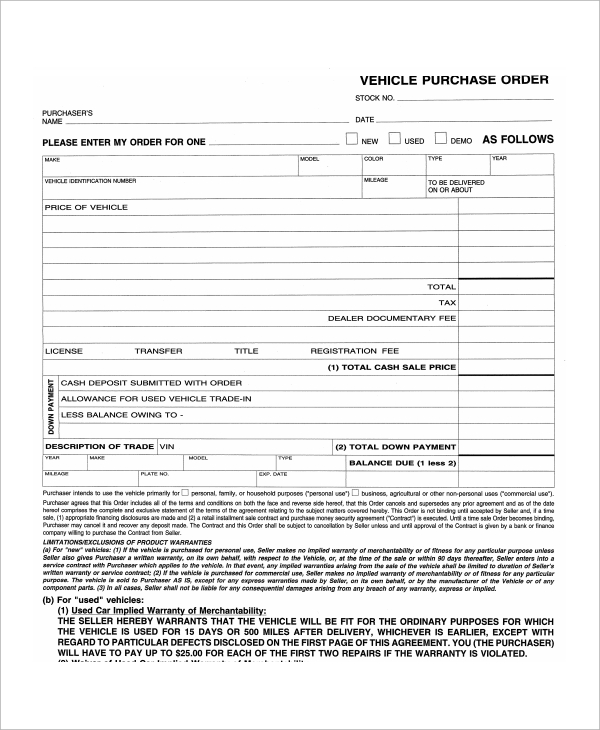truck lease purchase agreement template sample commercial truck
