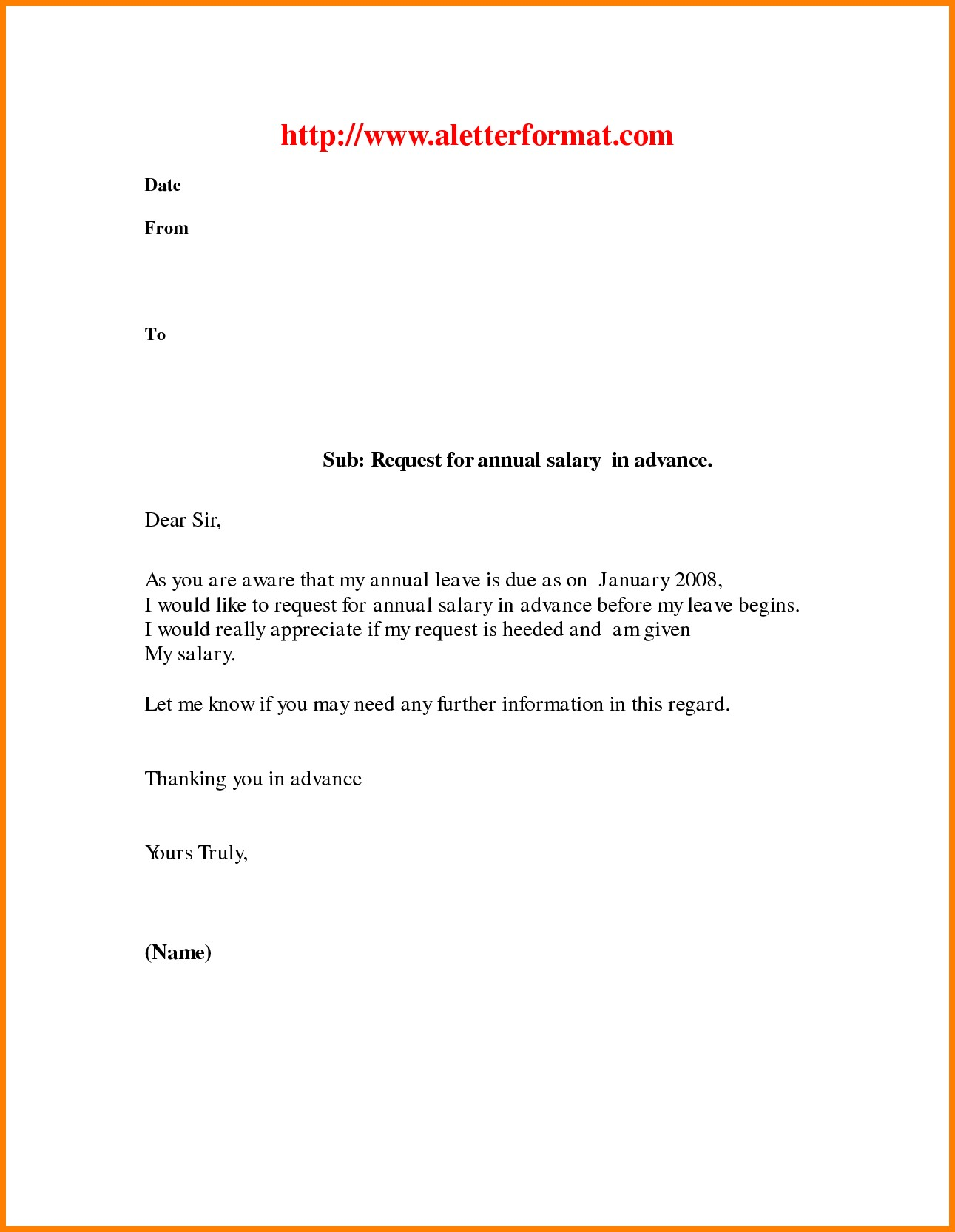 Leave Of Absence Letters Sample Copy 14 Personal Leave Letter