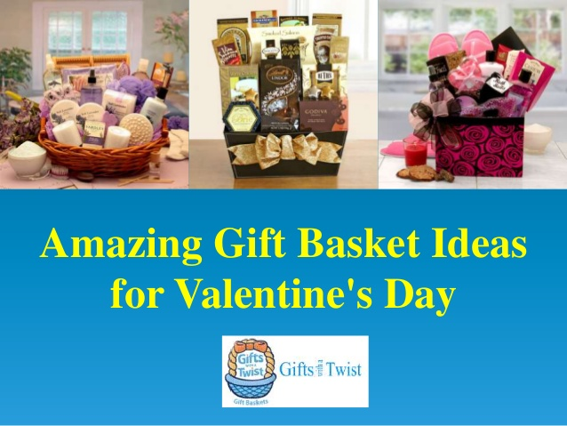 Amazing Gift Basket Ideas for Valentien's Day