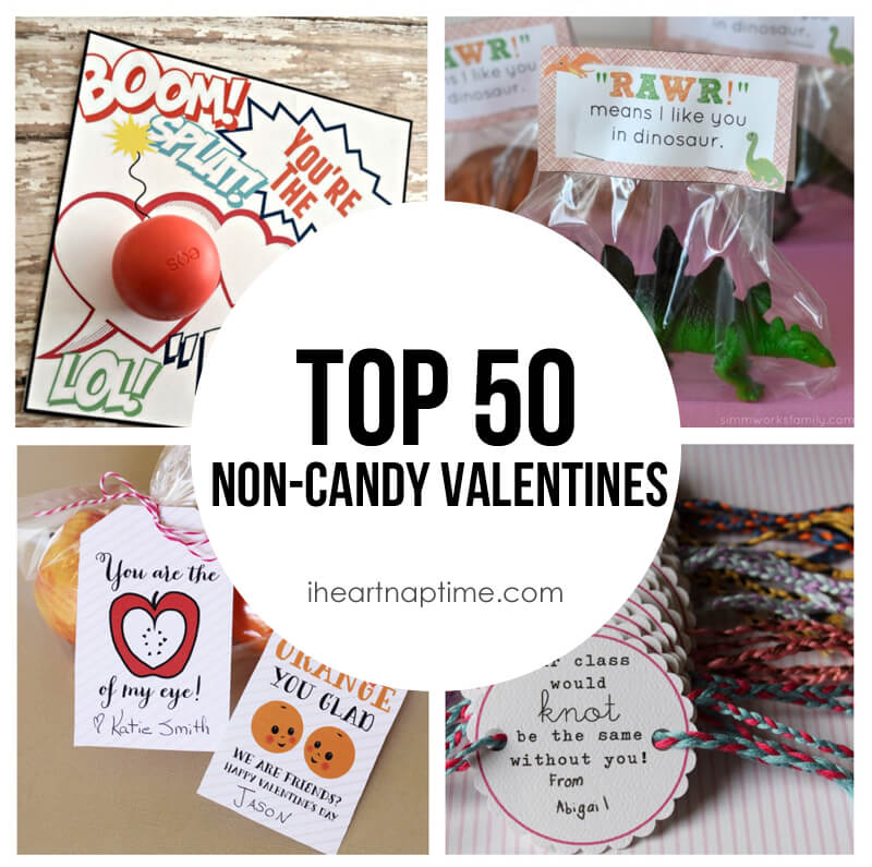 Top 50 Non Candy Valentine Ideas! So many cute and easy DIY